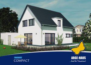 Schlüsselfertige Einfamilienhäuser der ARGE-HAUS Hausserie Compact.